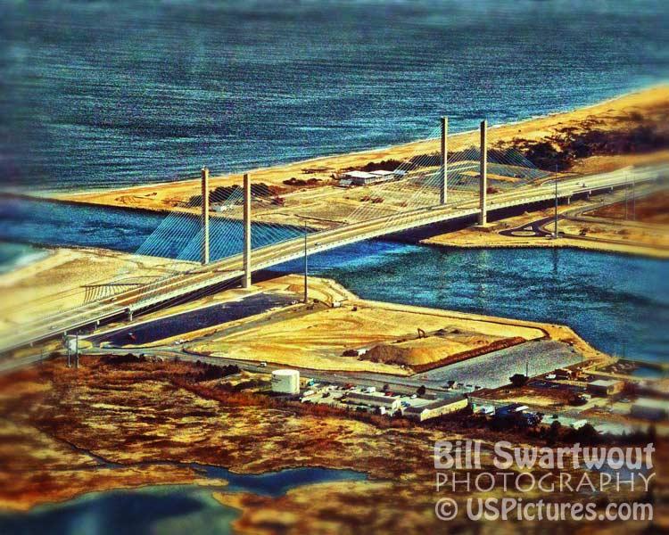 Delaware Seashore State Park Under Construction Aerial